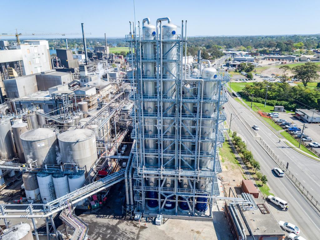 Manildra Group's state-of-the-art ethanol distillery